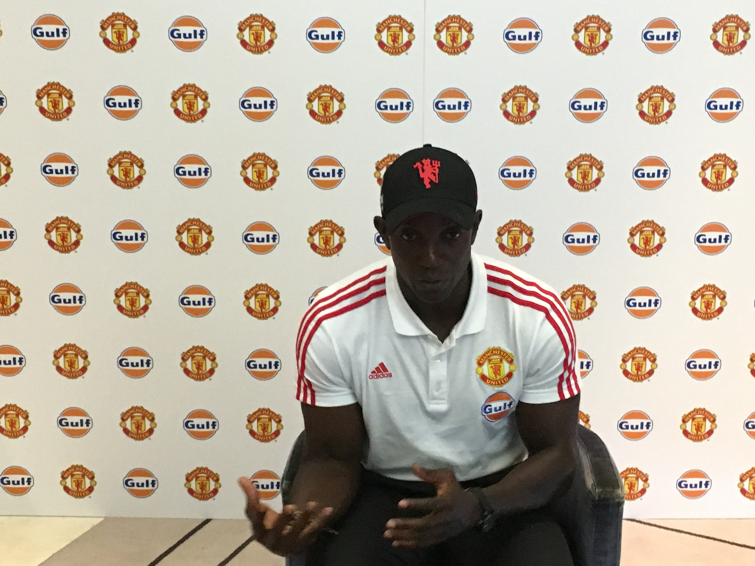 Dwight Yorke. (Tarek Ali Ahmad, Al Arabiya English)