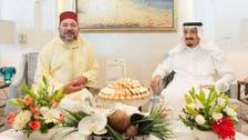 Saudi King Salman receives Moroccan King