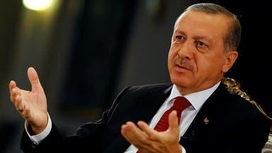 أردوغان: أبحث مع ترمب منطقة حظر جوي في سوريا