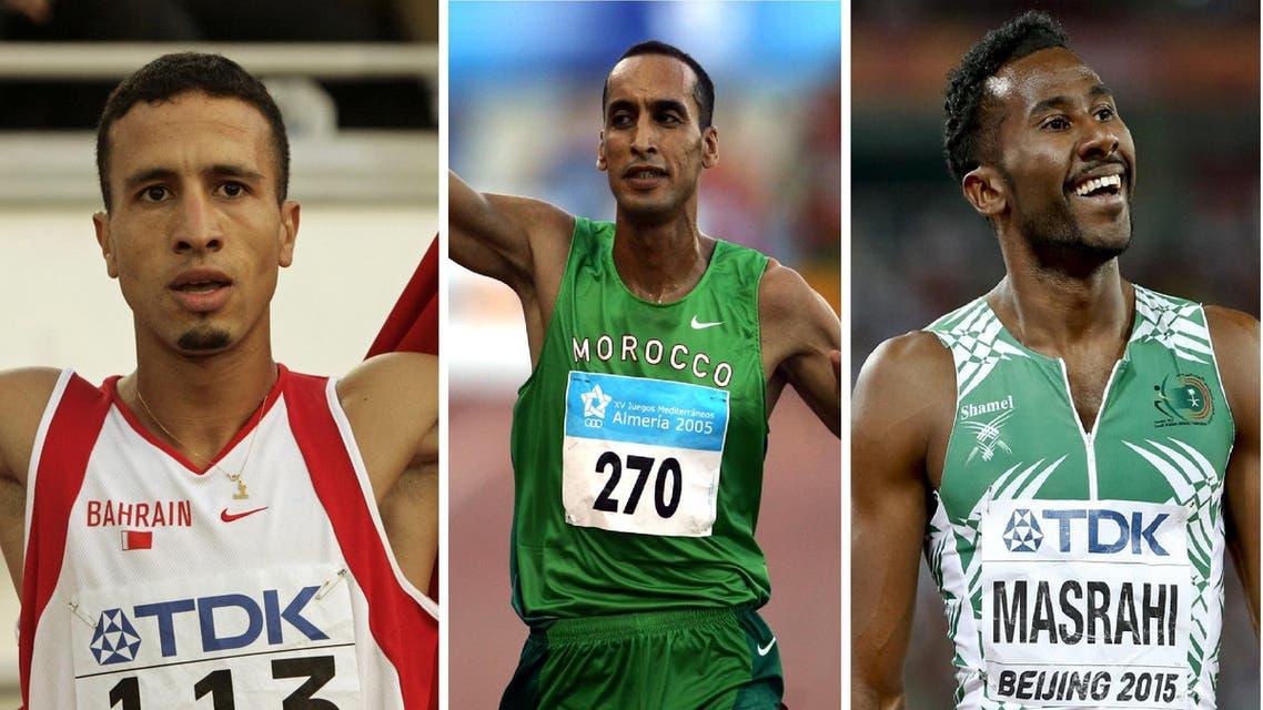 Arab athletes caught doping. (Reuters)