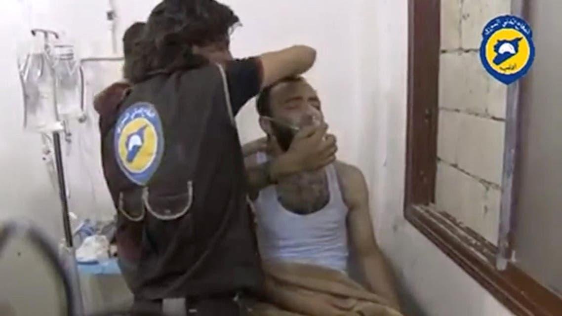 syria toxic gas