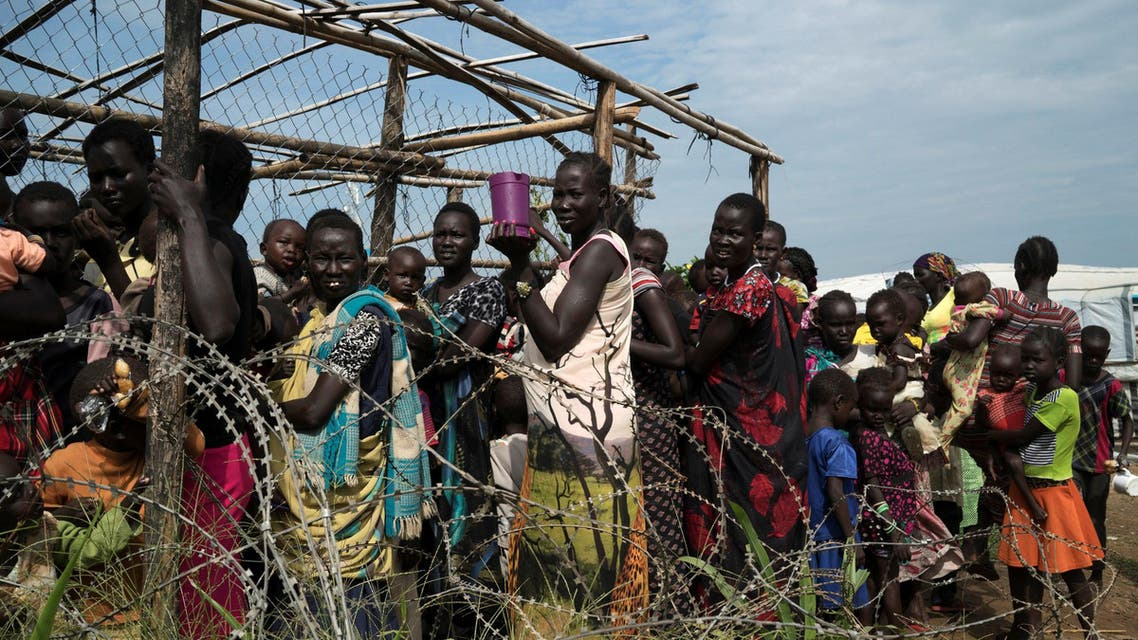 south sudan displaced women