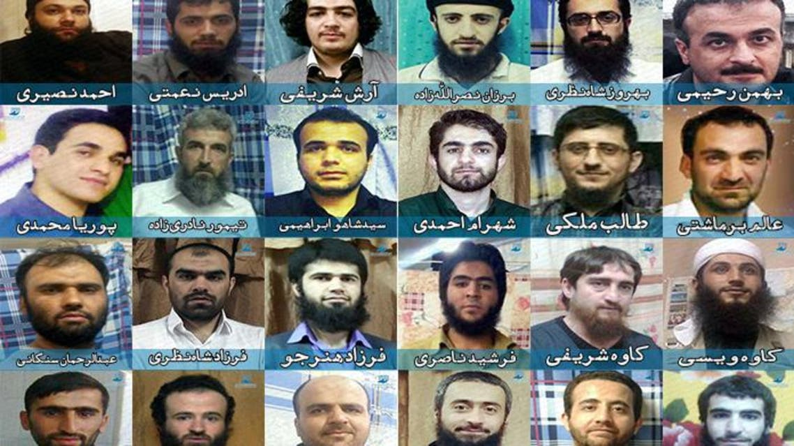 الناشطون السنة المحكومون بالاعدام بايران