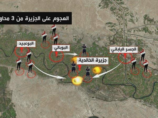 """""""أسود الصحراء"""" في العراق: مداهمة مواقع داعش بالأنبار"""