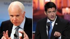 Republican rift widens as Trump declines to endorse Ryan, McCain