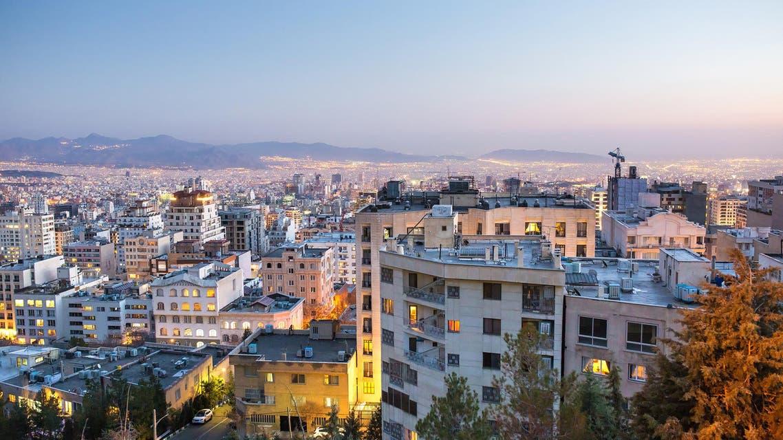 Tehran at night, Tehran, Iran. (Photo: Shutterstock)