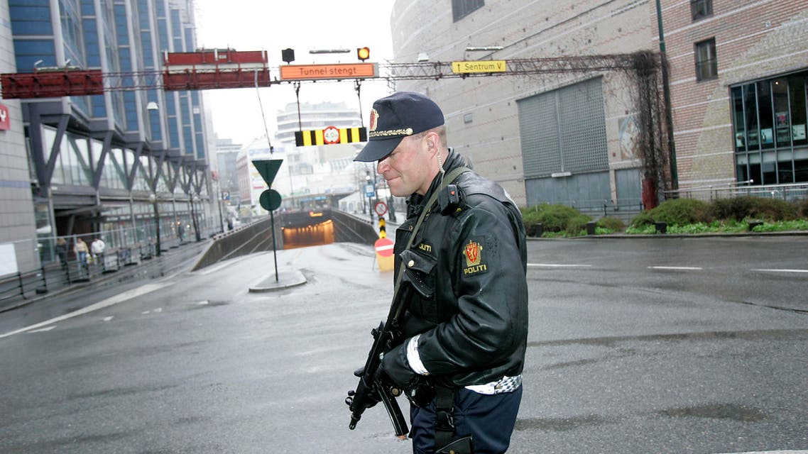 A photo of a Norway police (Photo: AP)