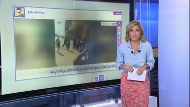 أنا_أرى مقاتلي فصائل المعارضة يسقطون طائرة استطلاع روسية تابعة للنظام في حلب