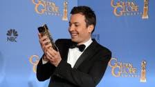 New Golden Globes host Jimmy Fallon starts with Trump joke