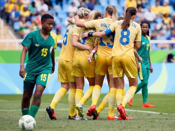 كرة القدم للسيدات: السويديات يحققن الفوز الأول