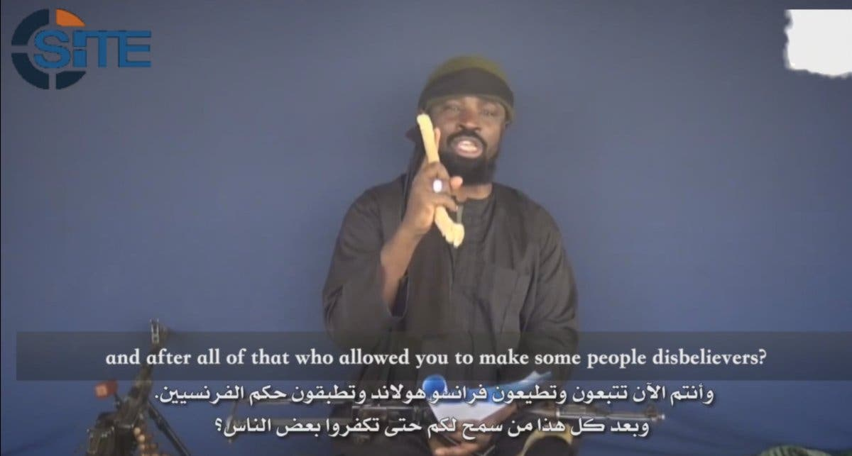 """The """"Wali"""" title was previously used to describe long-time Boko Haram leader Abubakar Shekau. (SITE)"""