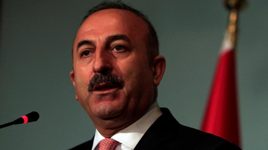 Turkish Foreign Minister Mevlut Cavusoglu made the call as strikes were stepped up in beseiged Aleppo. (Reuters)