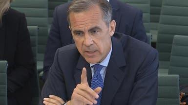 محافظ بنك إنجلترا: بريطانيا لا تمر بأزمة مالية جديدة