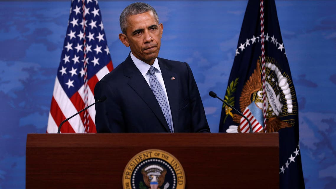 US President Barack Obama holds a news conference at the Pentagon in Arlington, Virginia, US August 4, 2016. (Reuters)