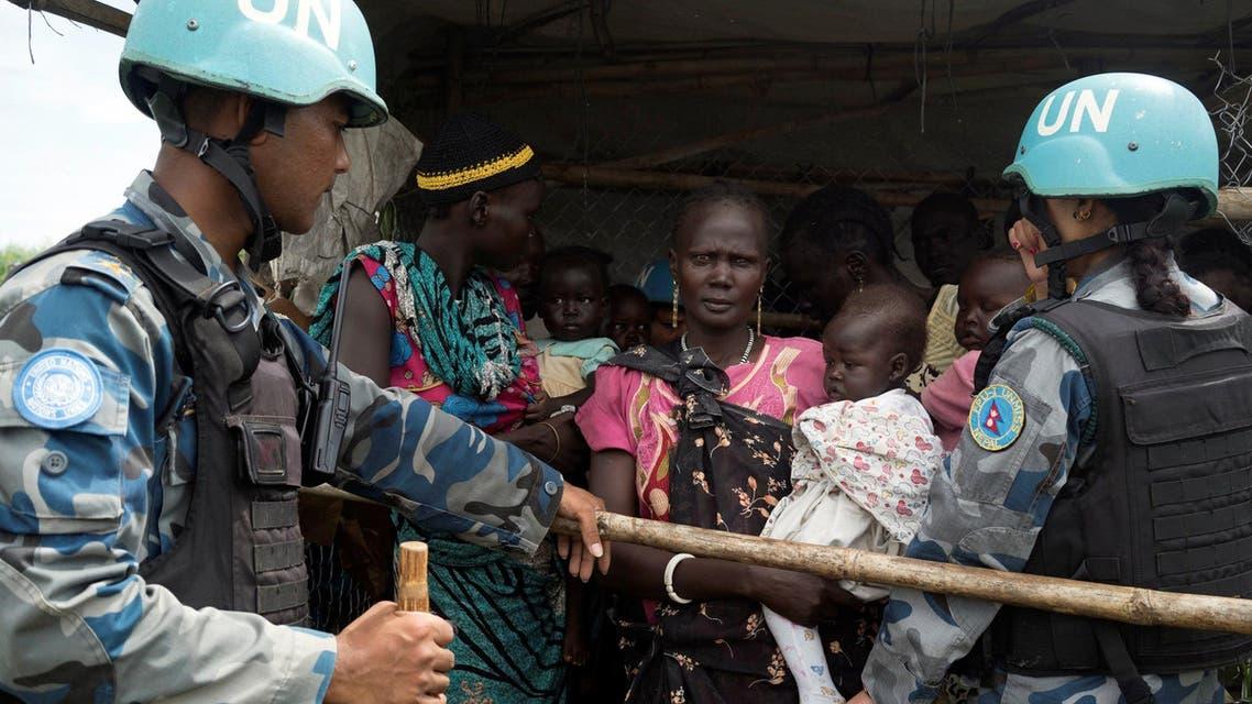South Sudan displaced