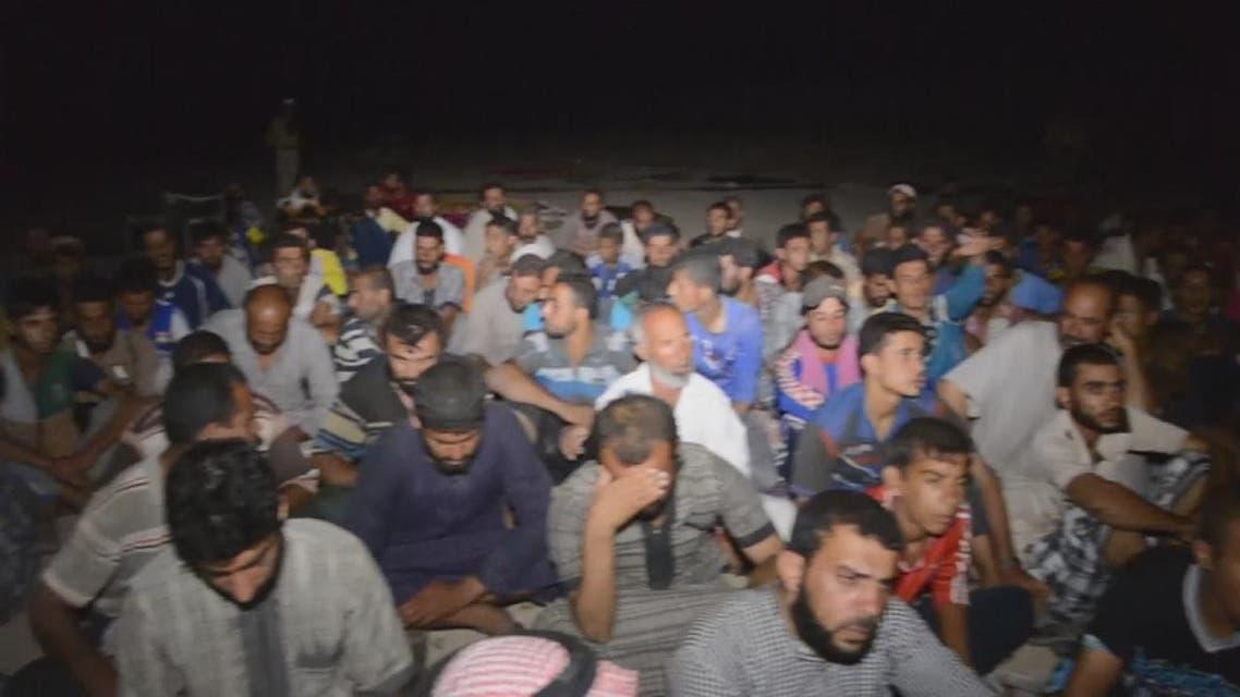 THUMBNAIL_ داعش يأسر الالاف في الحويجة العراقية ويعدم بعضهم