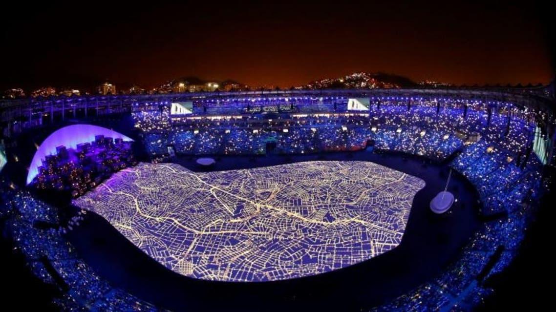 شهد عام خلال مراسم افتتاح الألعاب الاولمبية في ريو دي جانيرو - رويترز