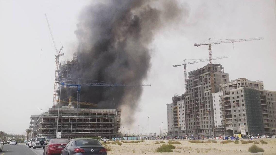 jumeirah village fire