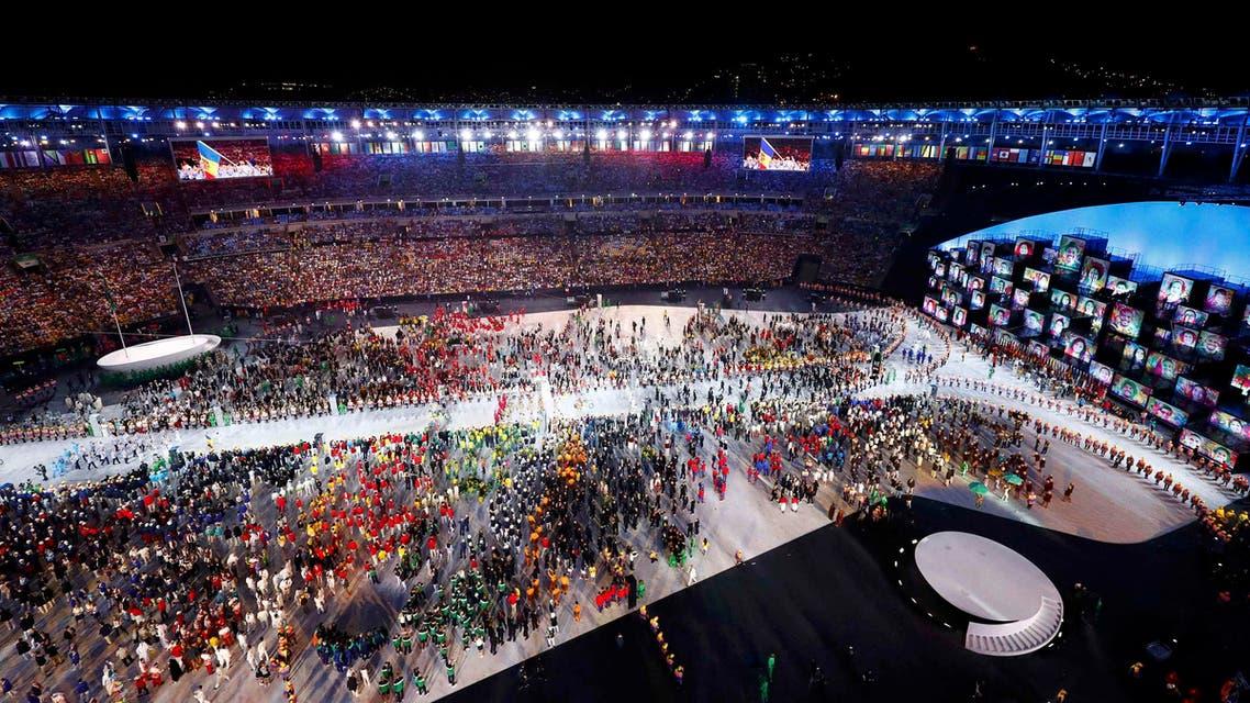 افتتاح الألعاب الأولمبية