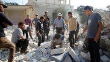 Air raids kill 10 near Syria hospital