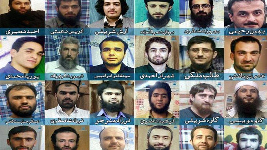 السجناء الذين أعدموا والبعض الآخر ينتظر حكم الاعدام