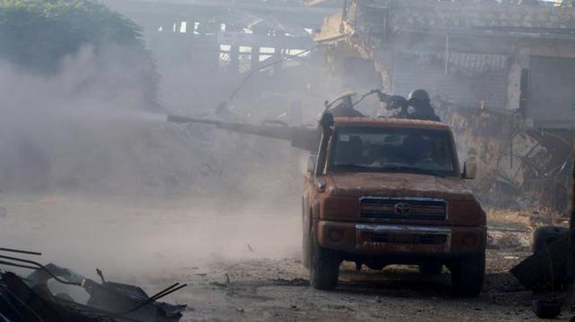 من الإشتباكات في حلب 3