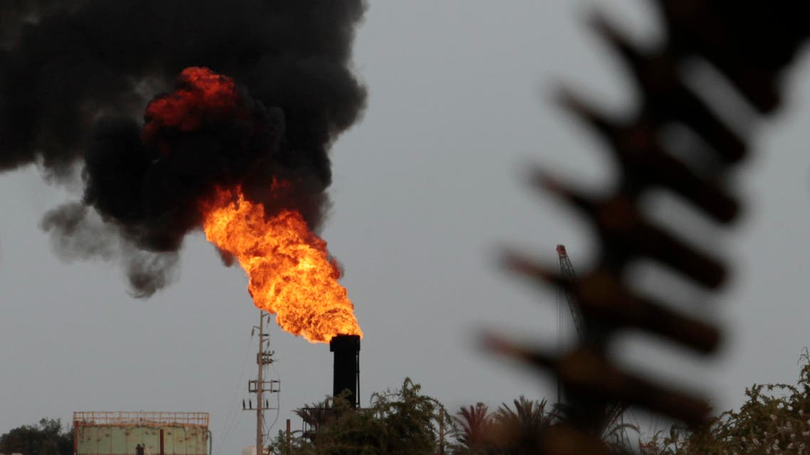 An oil terminal is seen after it was retaken by rebels from Muammar Gaddafi's forces in Zueitina, 850 km (528 miles) east of Tripoli, March 27, 2011. REUTERS