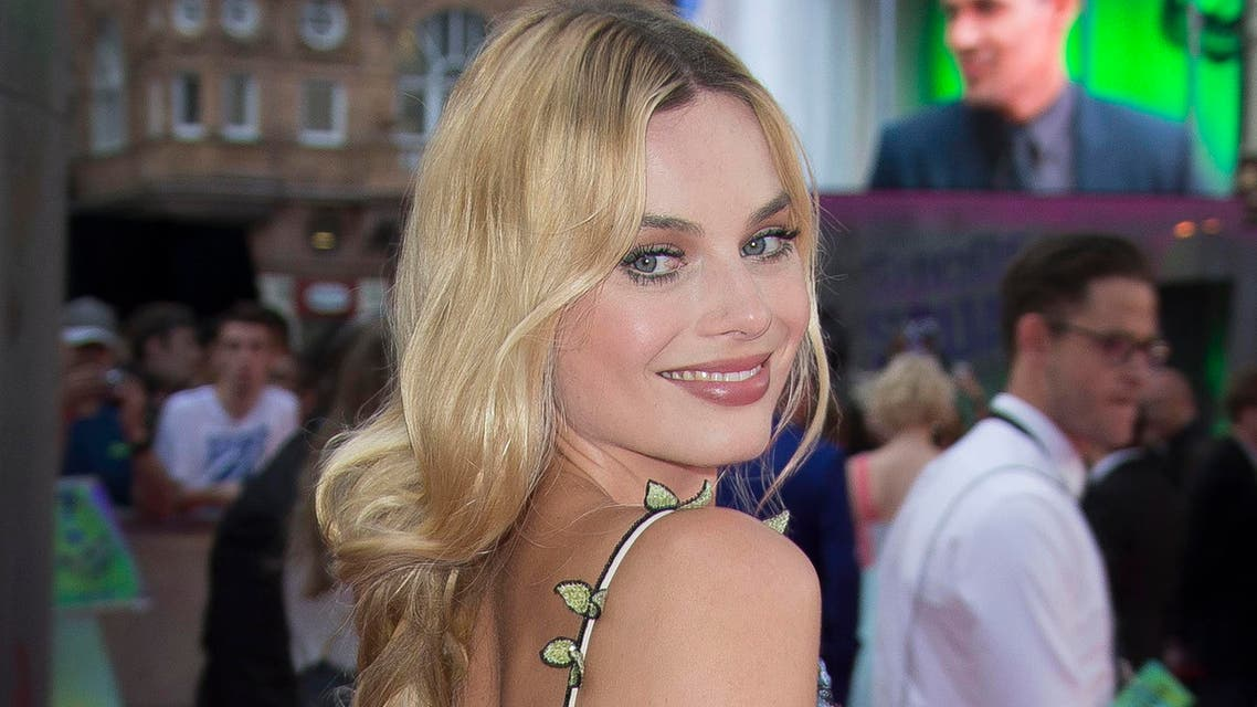 Actress Margot Robbie poses for photographers upon arrival at the European Premiere of Suicide Squad.