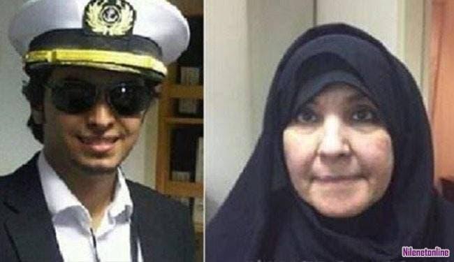 الداعشية الكويتية حصة وابنها أبو تراب