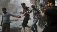 Jets pound rebels after breaking Aleppo siege