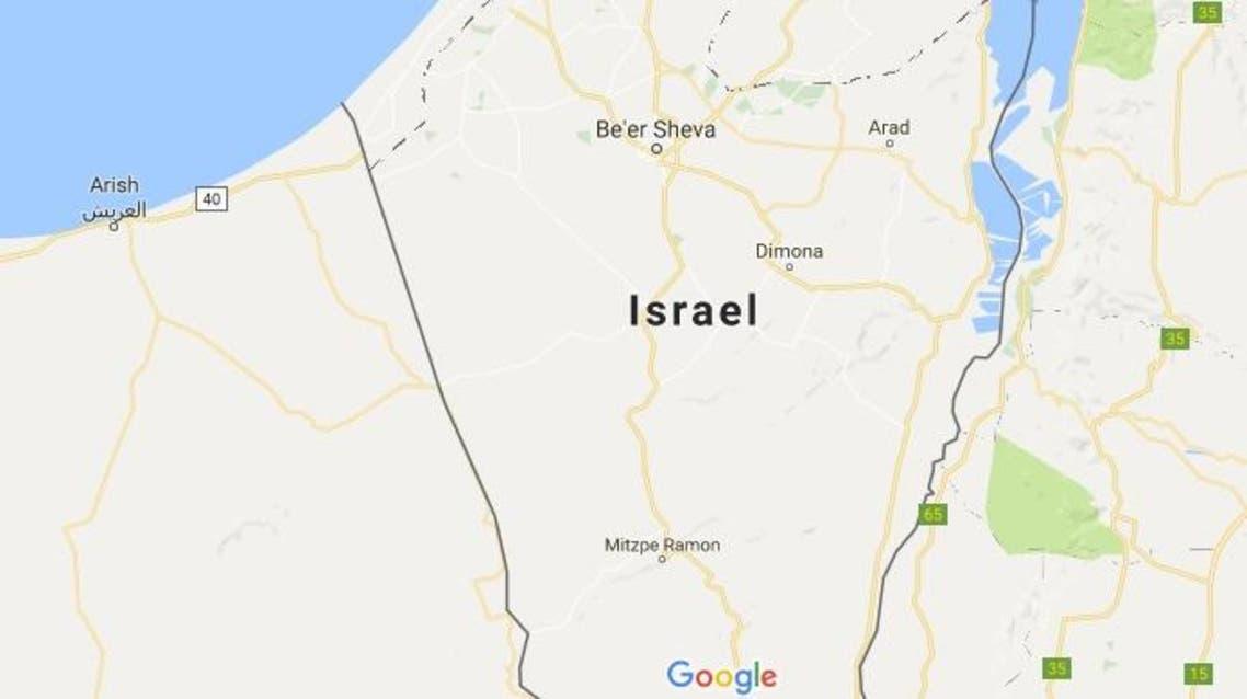 Google maps palestine israel