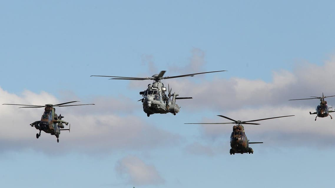 French caracal helicopters