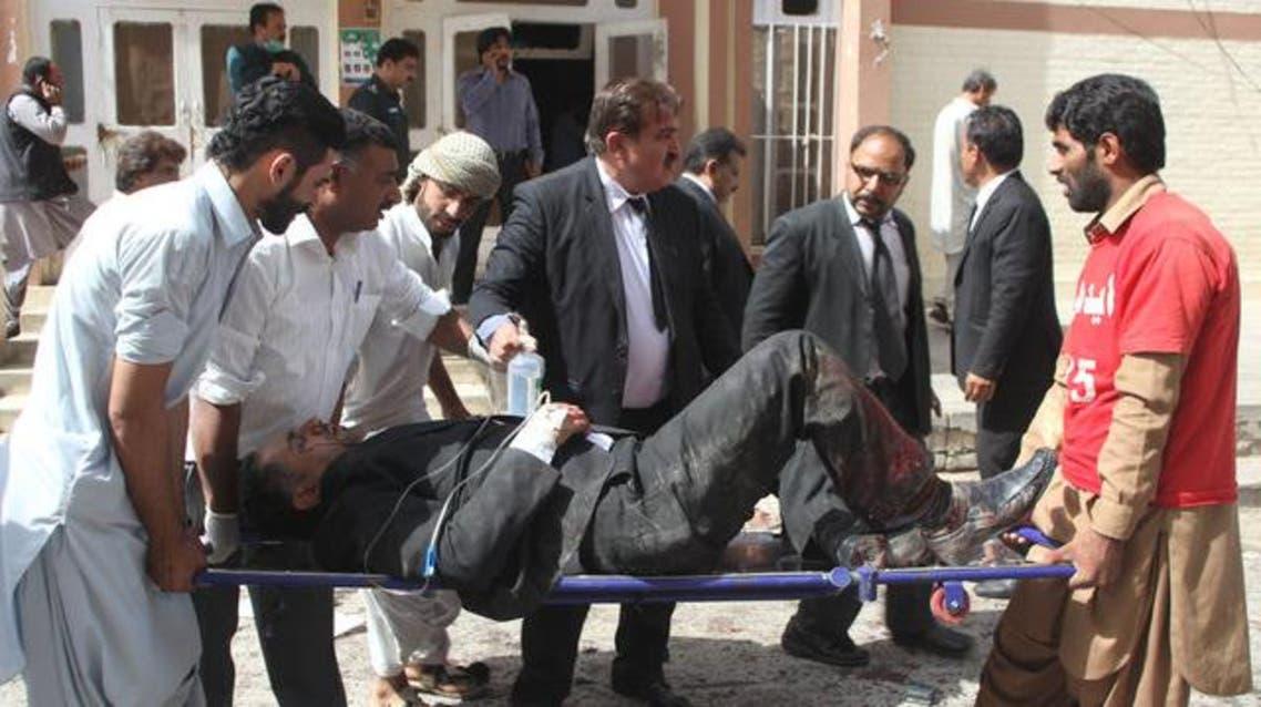 باكستان تفجير إرهابي بمستشفى