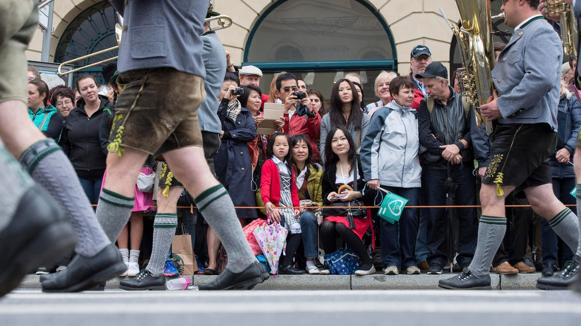 chinese tourists in germany