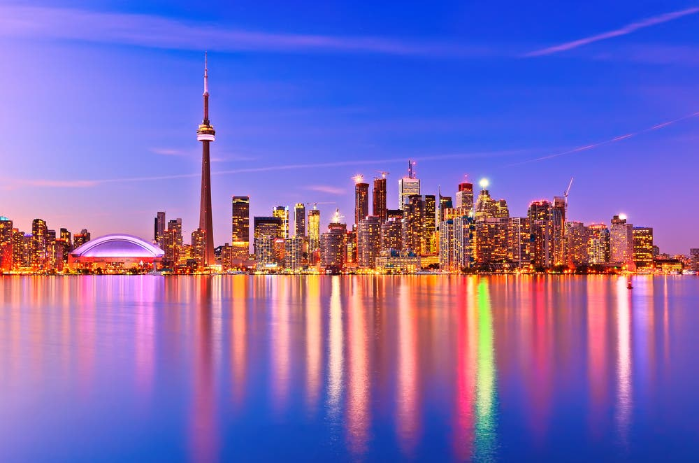 While Toronto might draw a blank on some faces, as the capital of eastern province Ontario, for Canadian's it's a big deal