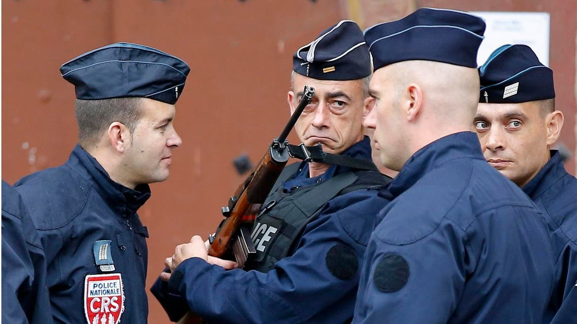 French police AP