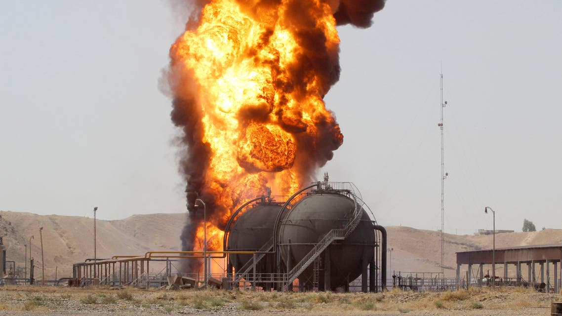 Oil well blown up in northern Iraq, North Oil says