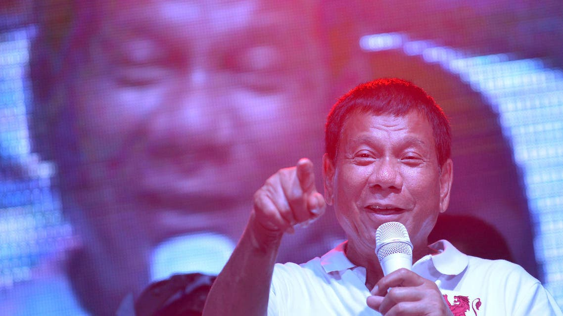 In the latest of series of tirades, Duterte used a local Tagalog language homophobic slur to express his displeasure. (File photo: Reuters)