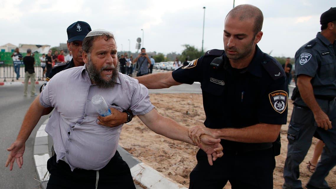 الشرطة الإسرائيلية تعتقل يهودياً متطرفاً هاجم فلسطينيين - فرانس برس