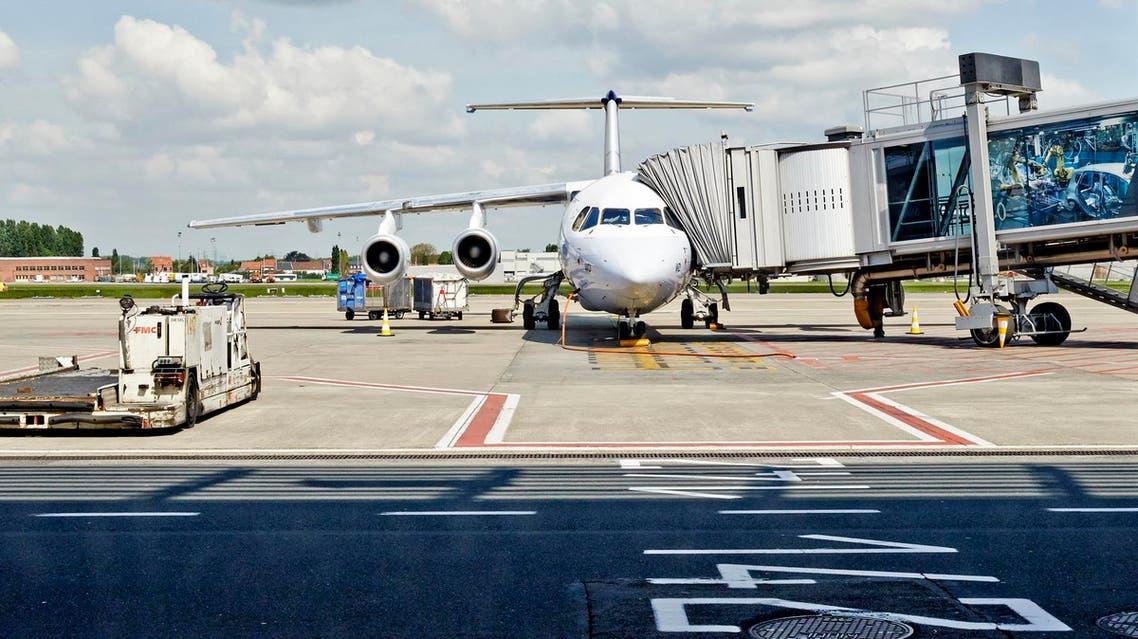 طائرة في مطار مطار بروكسل في زافنتيم - getty