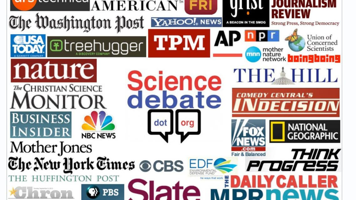 20 science questions for US presidential candidates