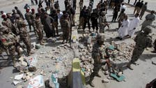 Bomb blast injures 13 in SW Pakistan days after major attack