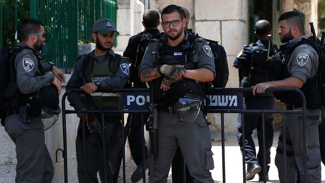 israeli police AFP
