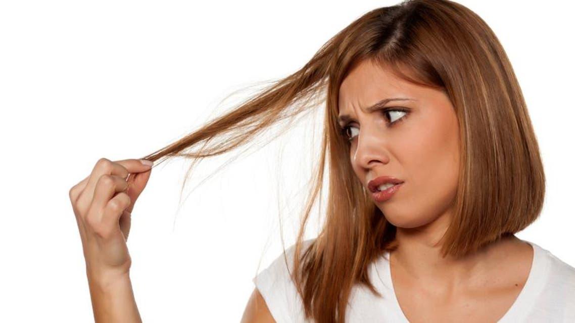 الشعر الجاف والتالف