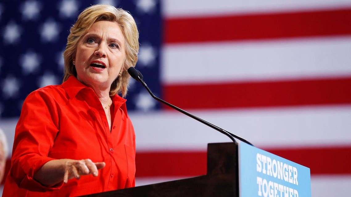 Clinton offered no new proposals of her own but sought to cast doubt on the image Trump promotes of himself as the voice for working people. (Reuters)