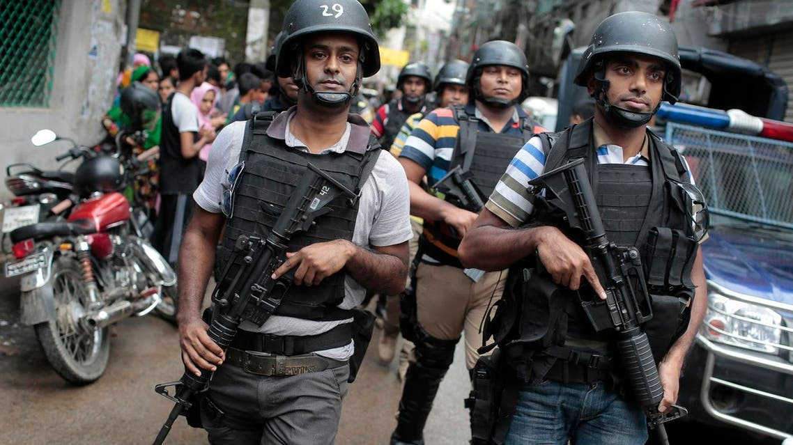 Members of a Bangladeshi special forces (Photo: AP)