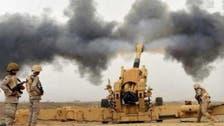 سعودی توپخانے کی حوثیوں کے ٹھکانوں پر گولہ باری