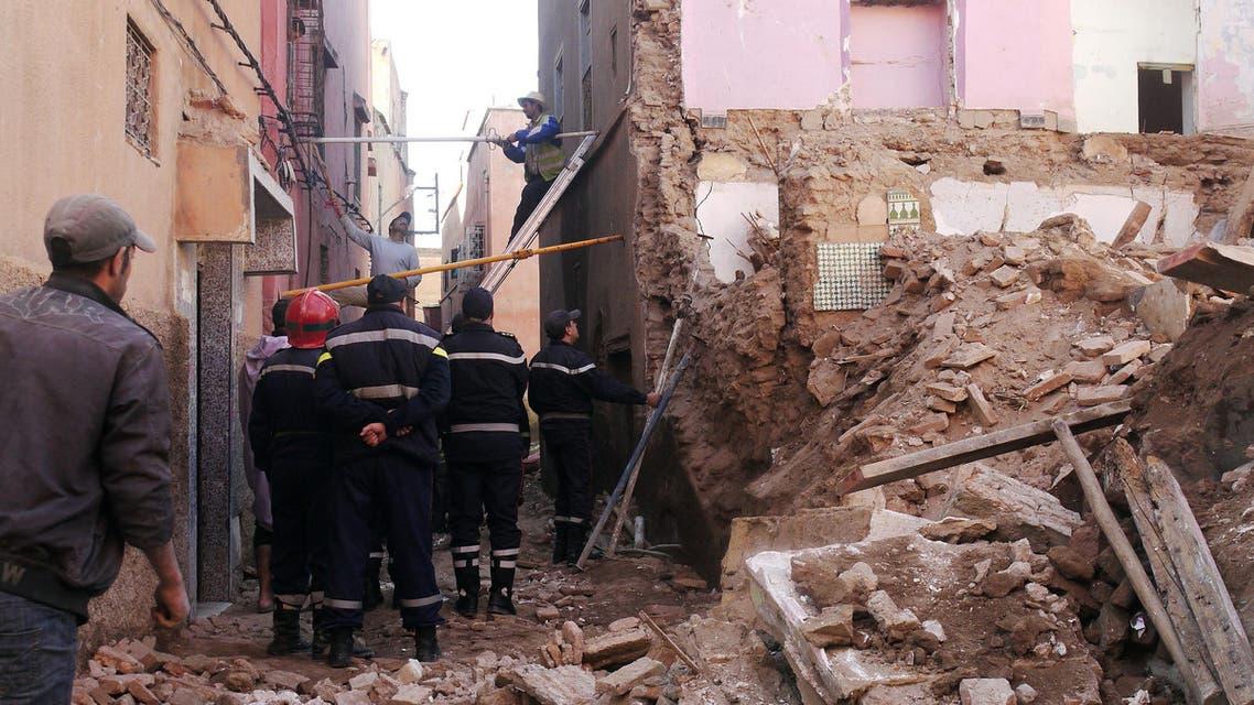 المغرب انهيار منزل