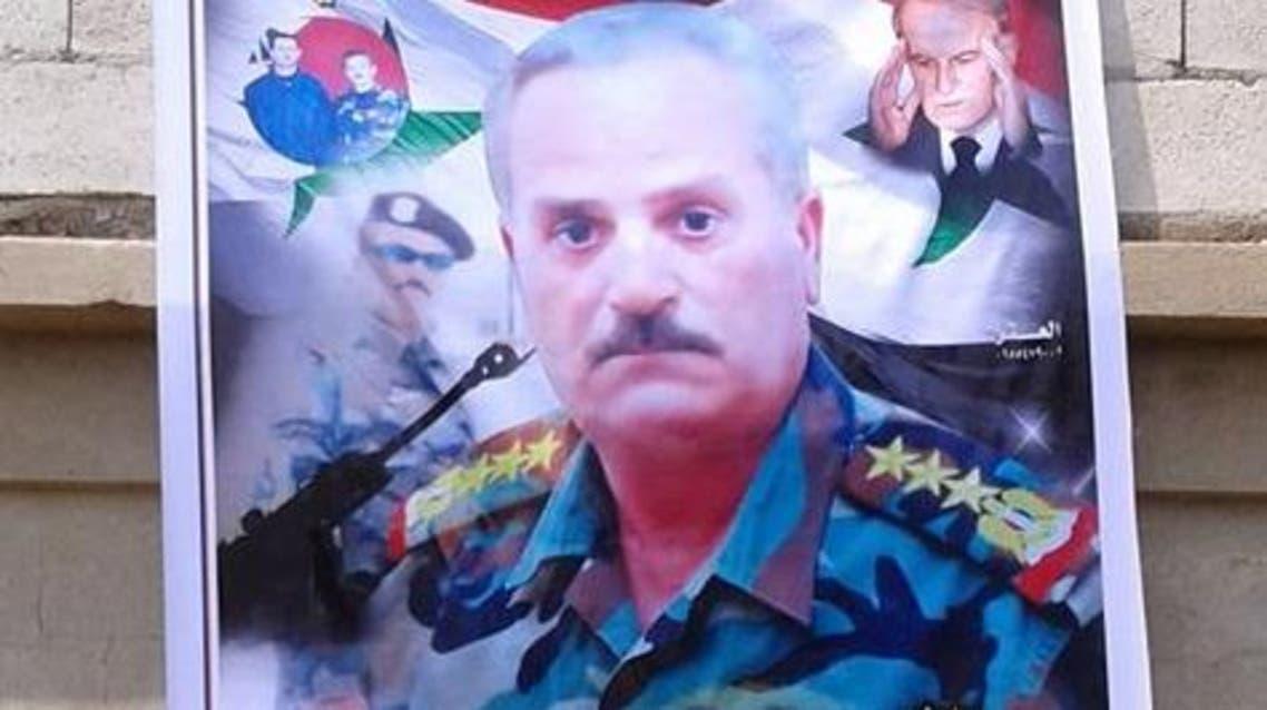 ضابط  النظام السوري القتيل