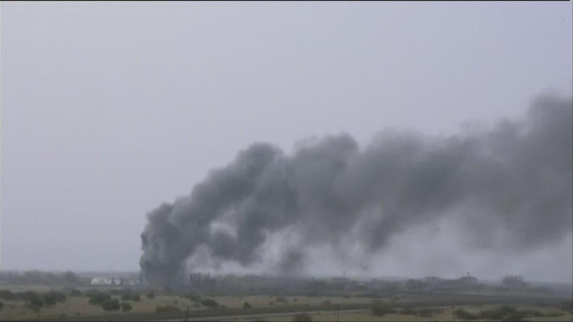 THUMBNAIL_ اليمن.. تدمير مركز تدريب للميليشيات في صعدة